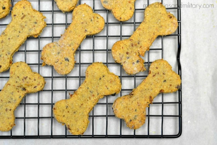 Bacon and Cheddar Dog Treats